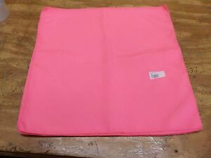 Basic Polyester Napkins in Neon Pink (Set of 4)