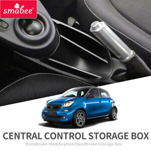 Car Armrest Center Storage Box for Smart 453 fortwo forfour 2015~2019 Accessorie