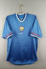 5/5 Barcelona jersey Large 2001 2002 thirt shirt soccer football Nike ig93