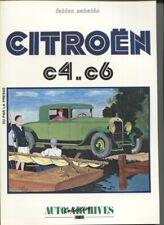 CITROEN C4.C6 recueil d'articles de presse,photos ,essais ,croquis  LIVRE NEUF