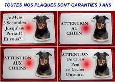 Plaque Panneau Pancarte chien beauceron 8 - Dim 12.5 x 0.75 cm