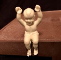 Vintage MARX *RARE*Seated Baby Boy Figure Holding Hands Up