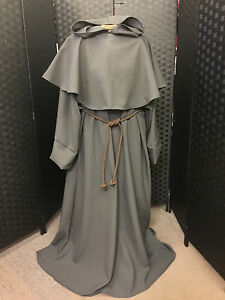 MONK ROBE IN COTTON DRILL CHOICE OF COLOURS FANCY DRESS HALLOWEEN