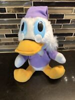 "Vintage Mickey's 8"" A Christmas Carol Disney Scrooge McDuck Plush Toy 1980's"