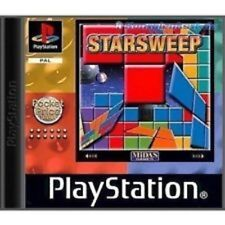 Starsweep - Playstation 1 Game No Manual - Damaged Case