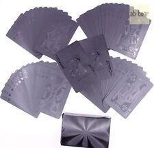 Black Diamond Poker Plastic Playing Cards Single Deck Game Very Beautiful New