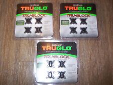Lot of 12 TruGlo Tru Block String Silencers Hunting Target Archery Fits All Bows