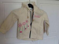 Manteau polaire fille à capuche en TBE Taille 3 ans