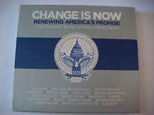 2x CD: Change Is Now: Sheryl Crow,BARACK OBAMA,Stevie Wonder,James Taylor,Usher+