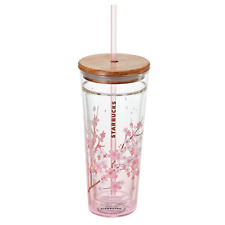 Starbucks Korea 2020 Cherry Blossom Double Wall Glass Coldcup 591m / 20oz