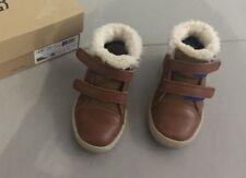 UGG Kinder Schuhe Sneaker Boots Wildleder Braun Lammfell Gefüttert Gr. 26