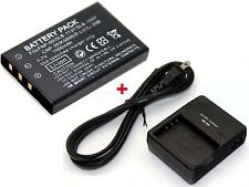 1500mAh Battery + Charger for HP Photosmart R818 R827 R837 R847 R927 R937 R967