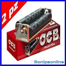 OCB RULLATRICE in METALLO ROLLATORE sigarette per CARTINE CORTE