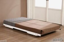 Coil Spring Metal Modern Beds with Mattresses