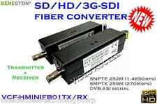 3G-SDI fiber converter 20KM/DVB-ASI/Broadcast/LC Connector/1080i/audio support