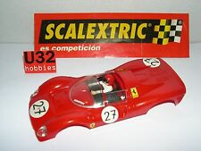 SCALEXTRIC SPAIN ALTAYA COCHES MITICOS CARROCERIA FERRARI GT 330 #27  LTED. ED.