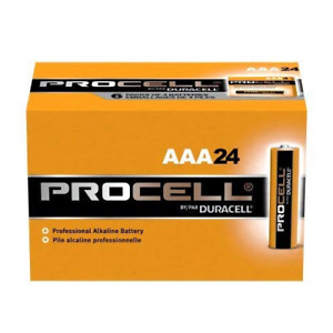 72 New AAA Procell Alkaline Batteries by Duracell PC2400 EXP 2026 or Later