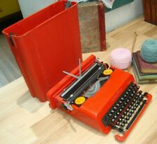 Retro Decor 1968 Olivetti Ettore Sottsass Red Valentine Portable Typewriter MoMA