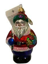 Bloomin Clause Radko Santa Claus Ornament