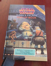 Jabba's Palace Pop-up Book (Star Wars) new 1st ed rare  ANDERSON McQUARRIE 1996