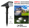 20-LED Solar Power Spotlight Landscape Lights Outdoor Garden Pathway Lamp IP65