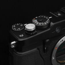 Gariz Soft Release Button XA-SBA2 for Fujifilm Fuji X-pro2 X100T X20 XE2 Silver