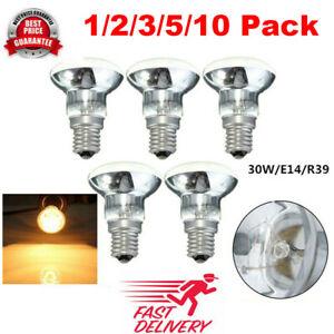 1~10pcs Replacement Lava Lamp E14 R39 30W Spotlight Glitter Lamps Bulb Spotlight