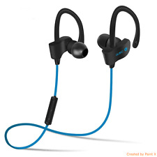 BT 6 Sports Bluetooth Headset Wireless, Earphone with Mic