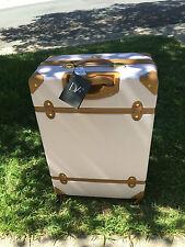 """Diane Von Furstenberg Saluti 24"""" Spinner Luggage Pink Mist/Lavender Suitcase"""