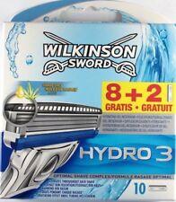 Wilkinson Sword Hydro 3 Razor Blades - Pack of 10