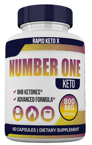 Number One Keto Pills 800 Advanced Energy Ketones with Go BHB Capsules