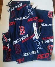 New Boston Redsocks All Over Print Sleep Pajama Pants MLB Mens Small 26-28