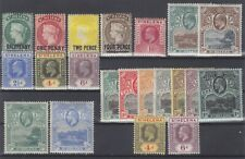 P130881/ ST HELENA STAMPS / LOT 1884 – 1922 MINT MH CV 294 $