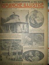 N° 691 REPORTAGES PHOTOS HISTOIRE ROMAN BD BICOT M. POCHE DIMANCHE ILLUSTRE 1936