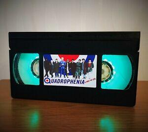 Quadrophenia Music Band Retro VHS LED Night Light, Desk Lamp, Bedroom Lamp, Kids