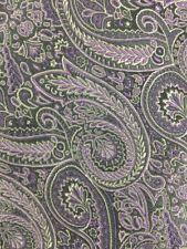 "Chaps by Ralph Lauren Purple Paisley Tie L 58"" W 3.25"" N1-13"