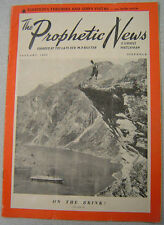 Prophetic News & Israel's Watchman - Jan 1959 - Christian Periodical