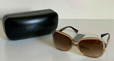 NEW COACH KISSING C CRYSTAL LIGHT BROWN SUNNIES SUNGLASSES SHADES L948 $195 SALE