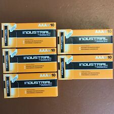 50 DURACELL AAA BATTERIE ALCALINE INDUSTRIAL PROCELL AAA 1.5v mn2400 lr03
