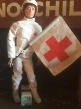 Vintage Action Man Early Issue Medic. With Early Split Toe Figure