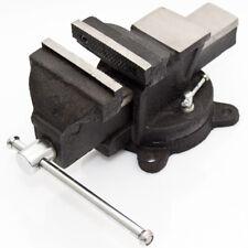 Werkbankschraubstock 100 mm 5,9 kg Schraubstock mit Amboss Drehteller 360°