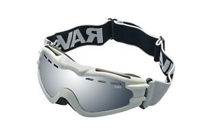 Alpland Ladies Ski Goggles Snowboard Skiing Goggles Silver Disc Antifog