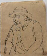 René Seyssaud (1867-1952) Portrait-P23V-