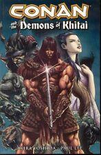 Conan And Demons Of Khitai GN Akira Yoshida Paul Lee Robert E Howard OOP New NM