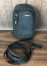 Lowepro Black Ridge 30 Digital Camera Case w/ Strap Zipper Compact Belt Loop