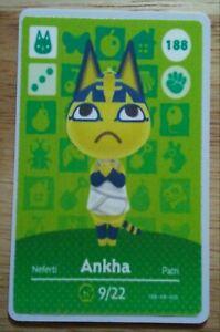 Handmade animal crossing (AMIIBO) card (ANKHA) SEE DESCRIPTION