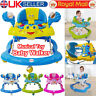 Baby First Steps Walker Activity Bouncer Musical Toy Push Along Ride On Bright