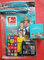 Topps Bundesliga Sticker Starterpack 2019/20 + Display  36 Booster a 5 Sticker