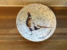 More details for royal stafford - chester the pheasant-pasta bowl - brand new