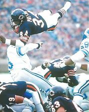 WALTER PAYTON 8X10 PHOTO CHICAGO BEARS PICTURE VS LIONS